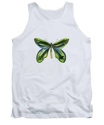 6 Queen Alexandra Butterfly Tank Top