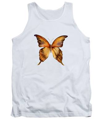 7 Yellow Gorgon Butterfly Tank Top