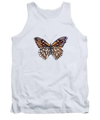9 Mexican Silver Spot Butterfly Tank Top