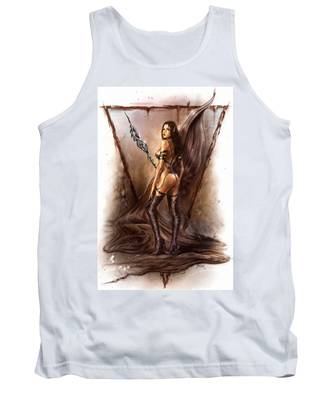 About Elves And Steel  Tank Top