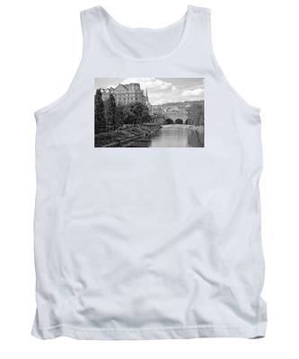 Bath On Avon By Mike Hope Tank Top