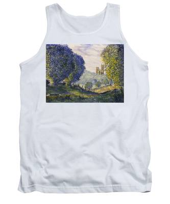 Bridlington Priory From Woldgate On The Hockney Trail Tank Top