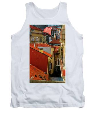 Cat Feed Tank Top by Skip Hunt