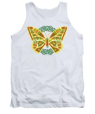 Celtic Butterfly Tank Top