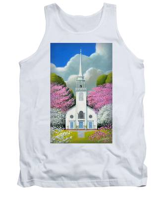 Church Of The Dogwoods Tank Top