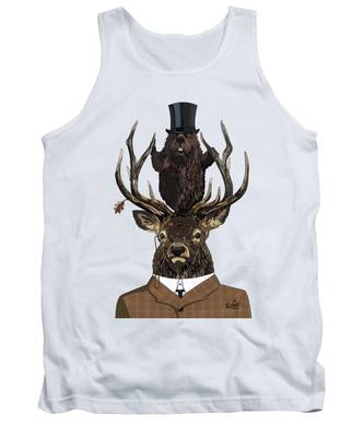 The Earl And Council With Hidden Pictures Tank Top
