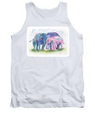 Elephant Hug Tank Top