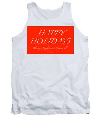 Happy Holidays - Day 1 Tank Top