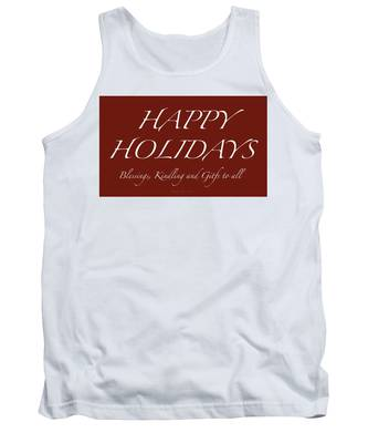 Happy Holidays - Day 6 Tank Top