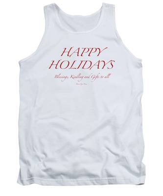 Happy Holidays - Day 8 Tank Top