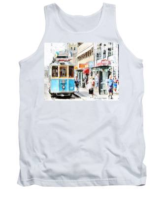 Historic Stockholm Tram Tank Top