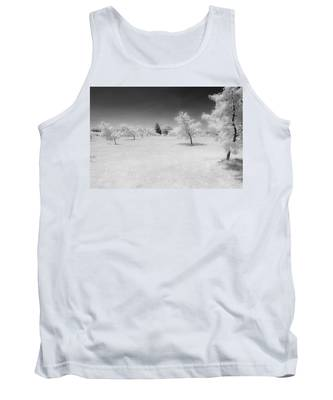 Infrared Peach Orchard Tank Top