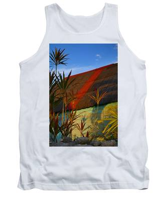 Tank Top featuring the photograph It's My Party by Skip Hunt