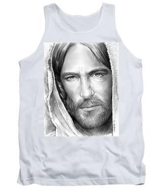 Jesus Face Tank Top