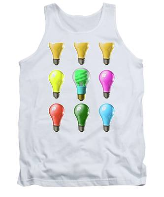 Light Bulbs Of A Different Color Tank Top