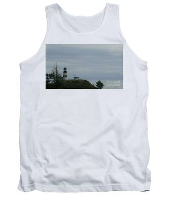 Lighthouse At Cape Disappointment Tank Top