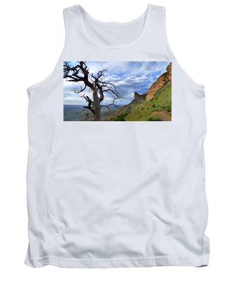 Tank Top featuring the photograph Mesa Verde Mood by Skip Hunt