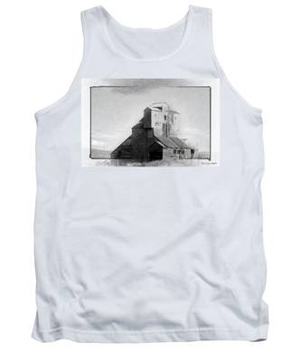 Old Grain Elevator Tank Top