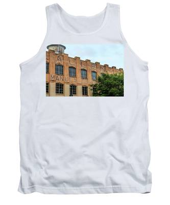 Old Mill Building In Buford Tank Top