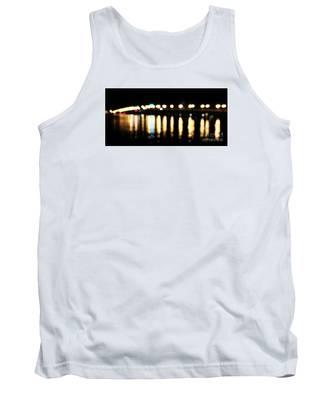 Bridge Of Lions -  Old City Lights Tank Top