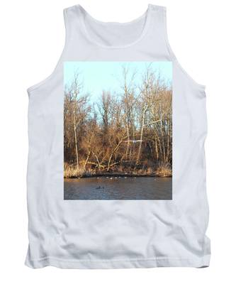 Seagull Flying Tank Top