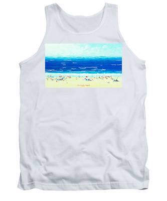 Sunday At Bondi Tank Top