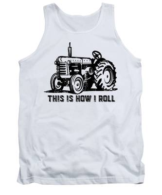 Vintage Tractor Tank Tops