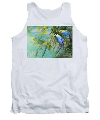 Two Pale-faced Rosellas Tank Top