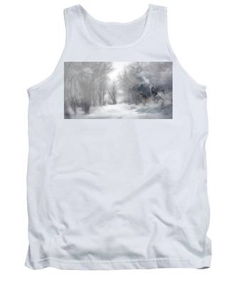Wolves In The Mist Tank Top