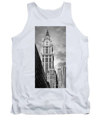 Tank Top featuring the photograph Woolworth Building by Juergen Held