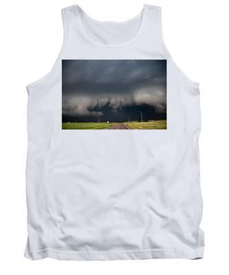 August Thunder 036 Tank Top by Dale Kaminski