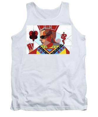The Oracle Poker Player Tank Top