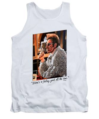 Here's To Feeling Good All The Time Tank Top