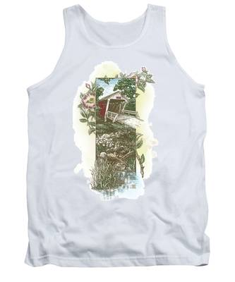 Iowa Covered Bridge Tank Top