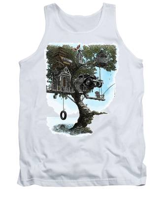 Lake Front Dream House Tank Top