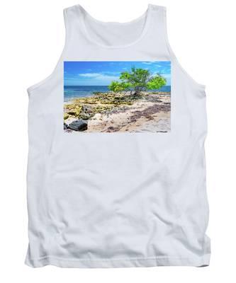 Lone Shore Tree Tank Top