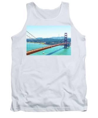 The Golden Gate Bridge I Tank Top