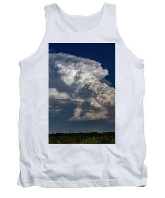 Tank Top featuring the photograph Updrafts And Anvil 008 by NebraskaSC