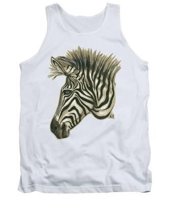 Zebra Profile Tank Top