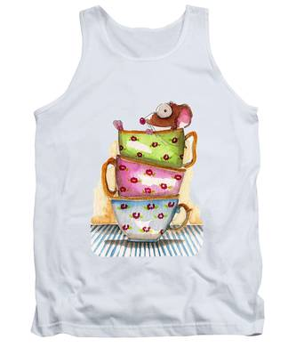 Tea Cup Tank Tops