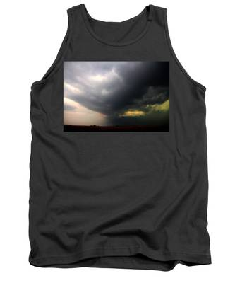 Tank Top featuring the photograph Severe Cells Over South Central Nebraska by NebraskaSC