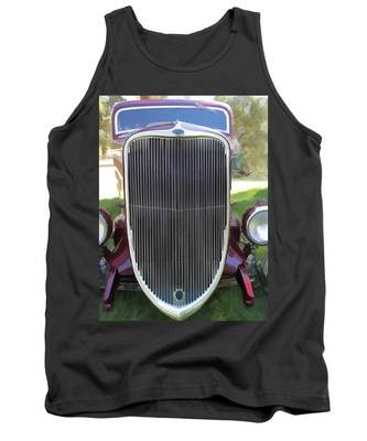 1933 Ford Grille Tank Top