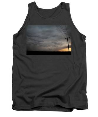 Tank Top featuring the photograph Let The Storm Season Begin by NebraskaSC