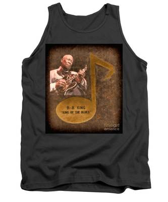 Bb King Note Tank Top