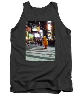Big Bird On Times Square Tank Top