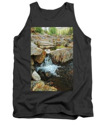 Cascading Downward Tank Top
