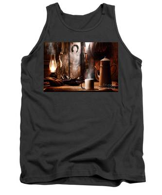 Coffee At The Cabin Tank Top