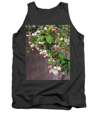 Crabapple Blossoms And Wall Tank Top