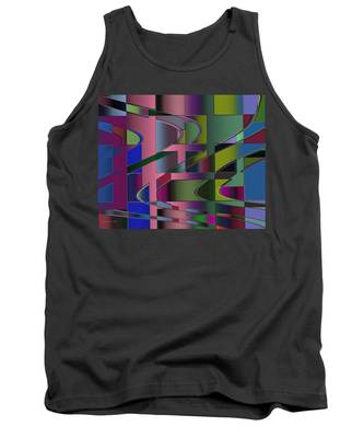Curves And Trapezoids 3 Tank Top