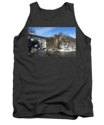 Great Falls Painted Tank Top